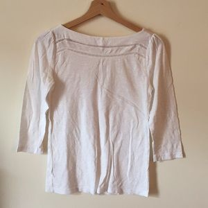 Loft soft three quarter long sleeve tee